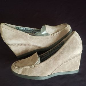 Naturalizer N5 Comfort Brown Suede Shoes 7M